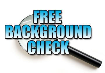 in a background check what is revealed tx free criminal